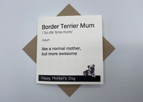 BTW Mother's Day greeting card